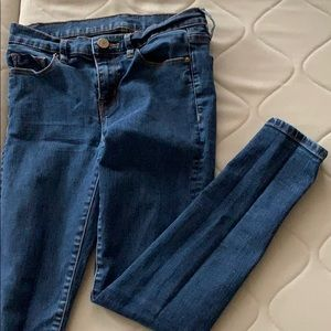 Urban Outfitters Blue Skinny Jeans